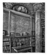 Fonthill Castle Library Fleece Blanket