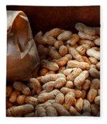 Food - Peanuts  Fleece Blanket