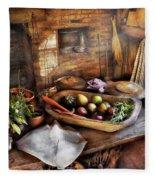 Food - The Start Of A Healthy Meal  Fleece Blanket