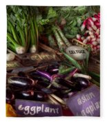 Food - Vegetables - Very Fresh Produce  Fleece Blanket