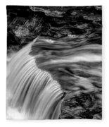Foot High Falls Fleece Blanket