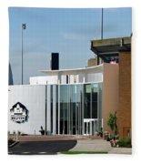 Football Hall Of Fame In Canton Fleece Blanket
