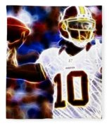 Football - Rg3 - Robert Griffin IIi Fleece Blanket