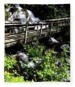 Footbridge Fleece Blanket