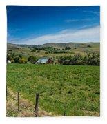 Foothill Ranch Fleece Blanket