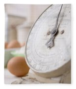 For The Baker Vintage Kitchen Scale  Fleece Blanket