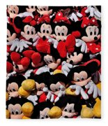 For The Mickey Mouse Lovers Fleece Blanket
