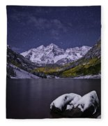 For Whom The Bells Toll Fleece Blanket