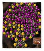 Forbidden Fruit Pop Art Fleece Blanket