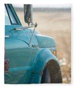 Ford Grain Truck Fleece Blanket