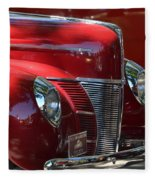 Ford Hotrod Fleece Blanket