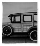 Ford Model A Station Wagon 1930 Fleece Blanket