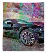Ford Mustang Fleece Blanket