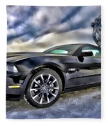 Ford Mustang - Featured In Vehicle Eenthusiast Group Fleece Blanket