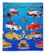 Another Ford Poster Fleece Blanket