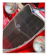 Ford Roadster V8 Fleece Blanket