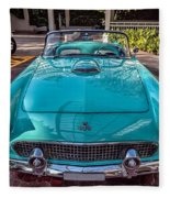 Ford Thunderbird  Fleece Blanket