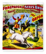 Forepaugh And Sells The Orfords Fleece Blanket