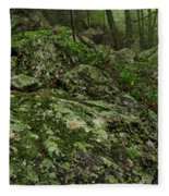Forest Boulder Field Fleece Blanket