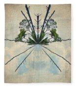 Forest Bouquet Wee Planet Fleece Blanket