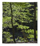 Forest Cathedral Fleece Blanket