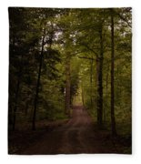 Forest Entry Fleece Blanket