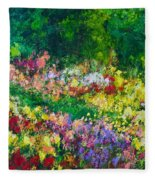 Forest Garden Fleece Blanket