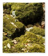 Forest Moss Fleece Blanket