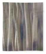 Forest Of Dreams 2  Panorama Fleece Blanket