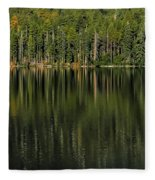 Forest Of Reflection Fleece Blanket