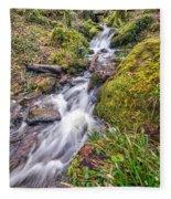 Forest Rapids Fleece Blanket