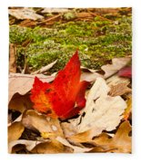 Forest Still Life 5 Fleece Blanket