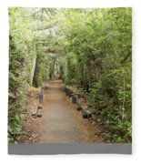 Forest Walk Fleece Blanket