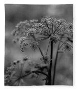 Forest Wild Flowers Fleece Blanket