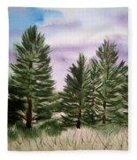 Forest's Edge Fleece Blanket