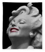 Forever Marilyn Fleece Blanket