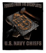 Forged From The Deckplates Fleece Blanket