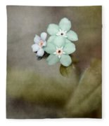 Forget Me Not 03 - S07bt07 Fleece Blanket