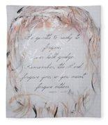 Forgiveness Fleece Blanket