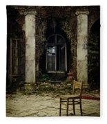 Forgotten Courtyard Fleece Blanket