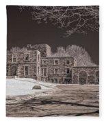 Forgotten Fort Williams Fleece Blanket