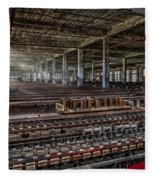 Forgotten Silk Mill Fleece Blanket