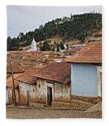 forgotten village Totora Fleece Blanket