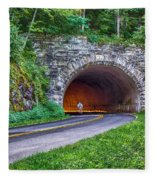 Fork Mountain Tunnel Fleece Blanket