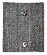 Formal Jacket Fleece Blanket