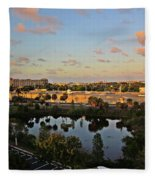 Fort Lauderdale View Fleece Blanket