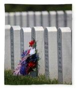 Fort Leavenworth National Cemetery Fleece Blanket