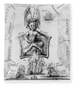 Fort Mifflin, 1777 Fleece Blanket