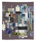 Forty Nine Shades Of Gray II Fleece Blanket