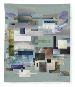 Forty Nine Shades Of Gray IIi Fleece Blanket